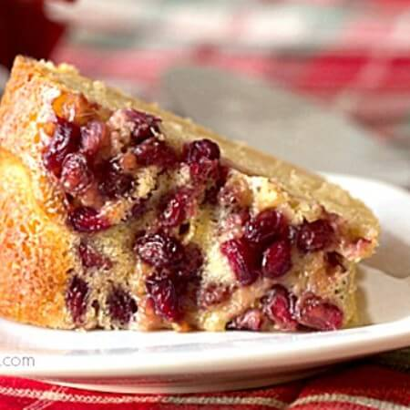 Pomegranate Lime Bundt Cake Recipe