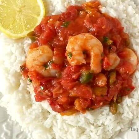 Quick and Easy Shrimp Creole: A southern Louisiana classic dinner recipe, made in less than 30 minutes! Get the recipe from @itsyummi