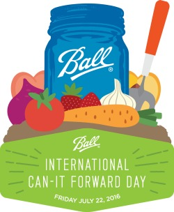 Logo for Ball Can-It-Forward Day 2016