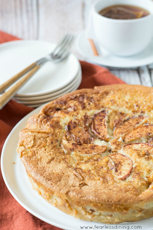 Foolproof Gluten Free Apple Cake, from Fearless Dining - One of Fall's best apple recipes, from Fearless Dining.