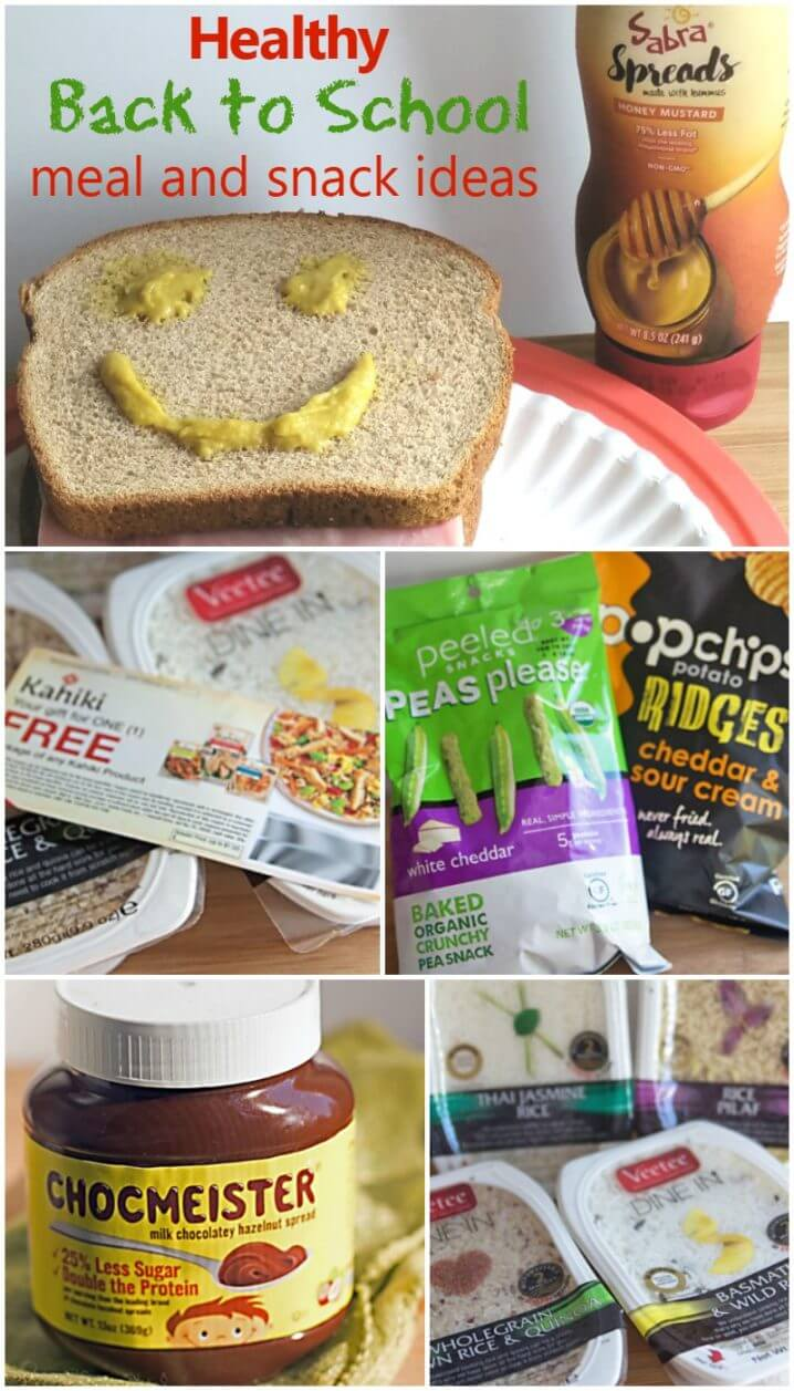 Healthy Back to School Meal and Snack Ideas - Creating healthy meals and snacks doesn't have to be difficult! Check out these great ideas from Babble Boxx! #BabbleBoxxBTS