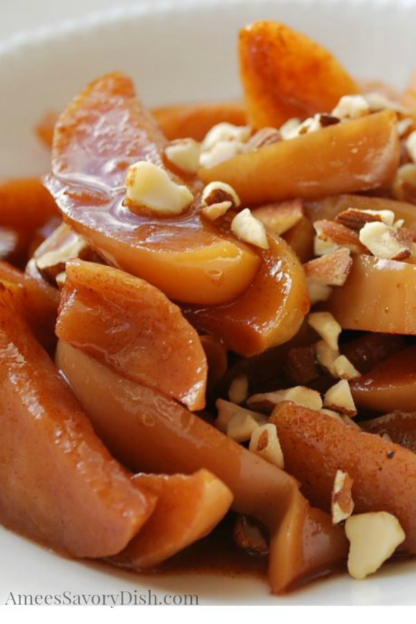 Baked Cinnamon Apples are one of Fall's best apple recipes to celebrate National Apple Month!