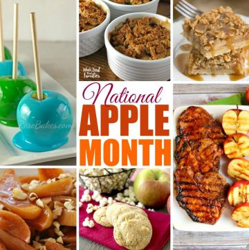 Fall's Best Apple Recipes are all in one place! Everything from breakfast to main dishes to dessert.