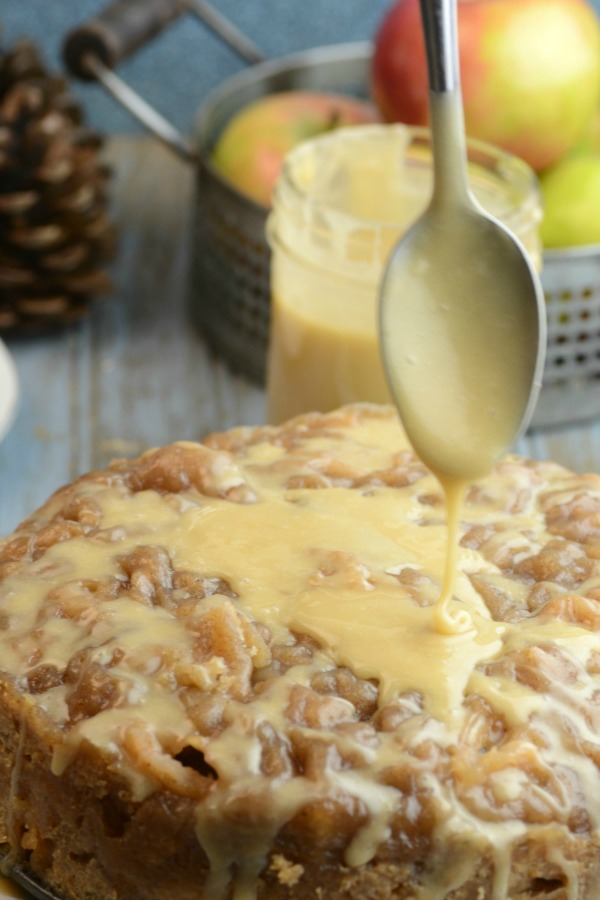 InstaPot Apple Bread Recipe - from Adventures of a Nurse