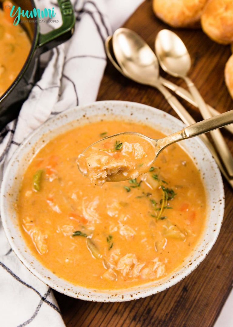 Creamy Seafood Chowder with Homemade Seafood Stock