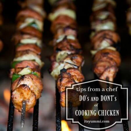 Learn the do's and don'ts of cooking chicken breast. See our tips from a chef on how easy it is to create tender, juicy chicken! | ItsYummi.com