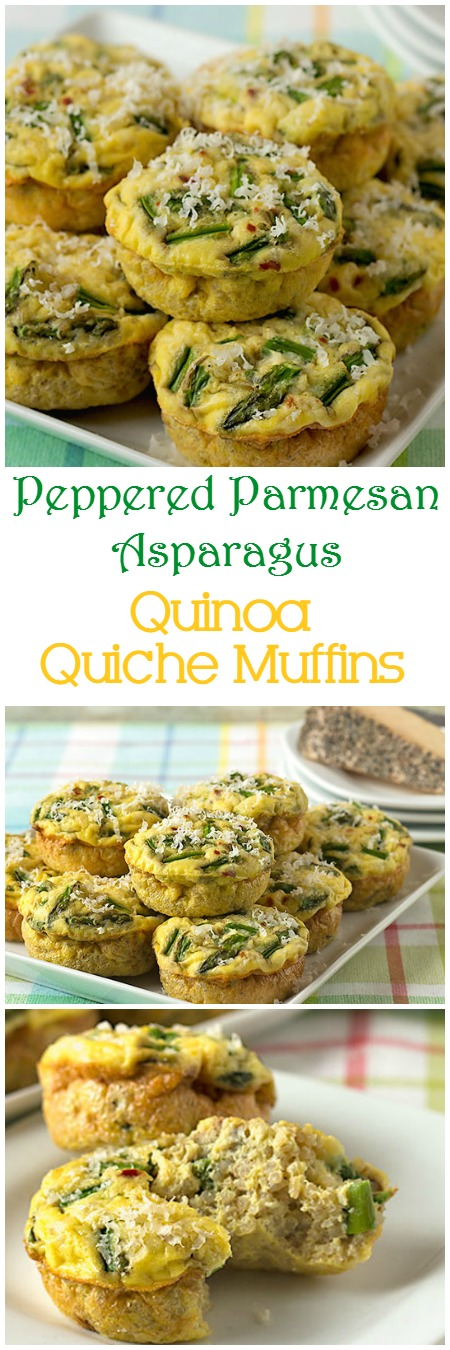 These crustless quiche muffins are delicious for any holidaybrunch, or even breakfast or lunch on the go. They're gluten-free, vegetarian, they freeze well, and they're a Weight Watcher's friendly breakfast, coming in at just 2 Smart Points per muffin! #weightwatchers #brunch #glutenfree #vegetarian #breakfast