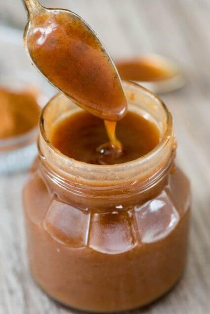 Cinnamon Caramel Sauce