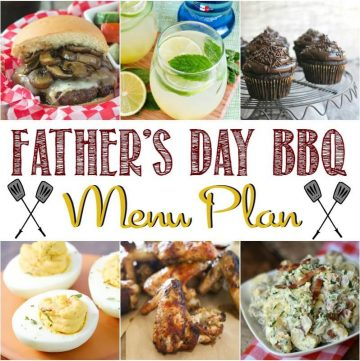 Best Easy Father's Day Recipes Menu Plan