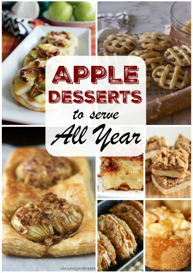 these easy apple desserts are fantastic to make, and eat, any time of the year! See all of the apple dessert recipes on itsyummi.com