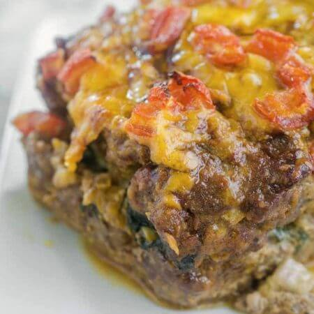 Veggie Stuffed Meatloaf {with Video}