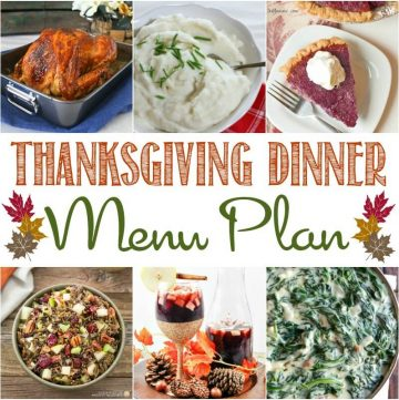 Here are my tips for preparing a perfect Thanksgiving dinner, as well as a delicious Thanksgiving dinner menu plan!