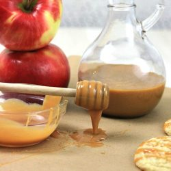 Microwave Caramel Sauce - making caramel sauce in a microwave is SO easy and quick!