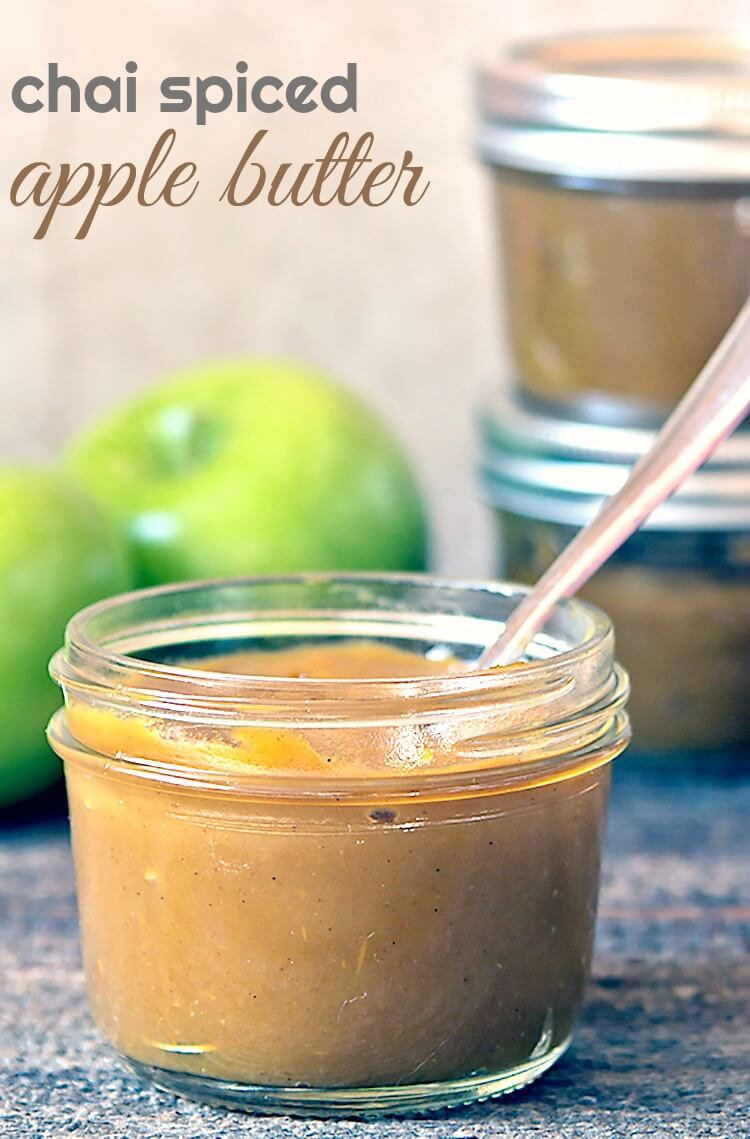 Chai Spiced Apple Butter #instantpot #multicooker #slowcooker #pressurecooker #recipe