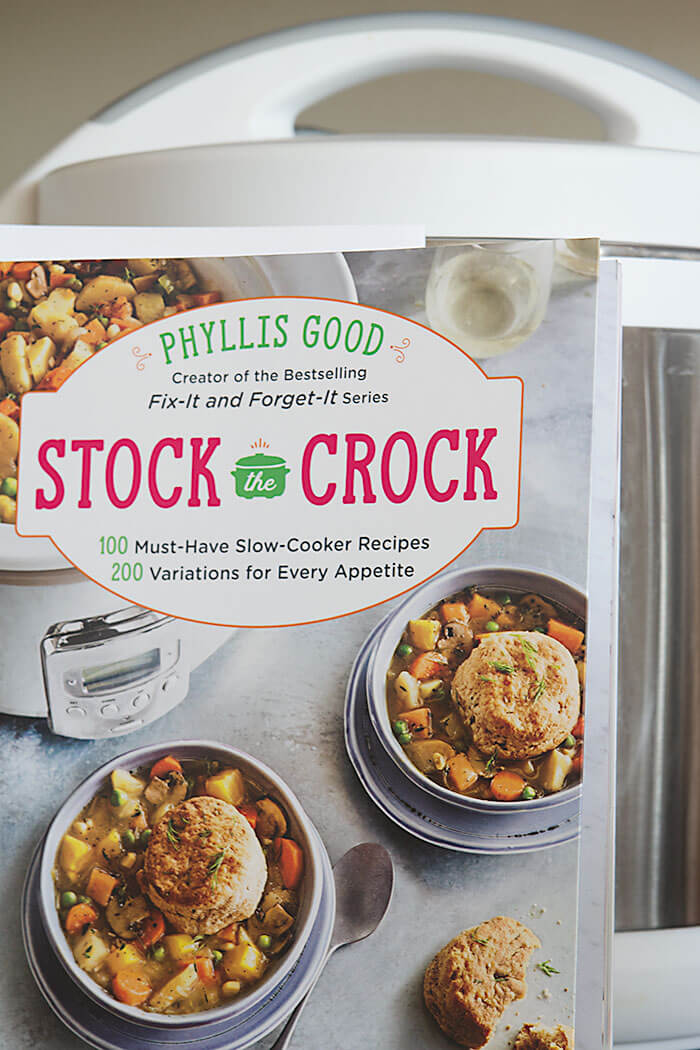 Stock the Crock cookbook cover