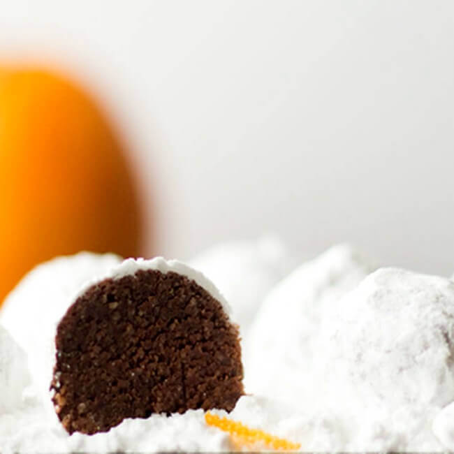 Low Carb Snowball Cookies, also known as meltaways or Russian Tea Cakes