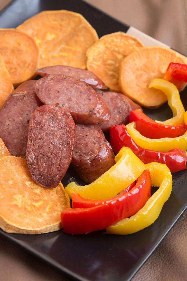 Easy Sausage Sheet Pan Dinner