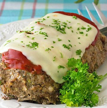 Low Carb Slow Cooker Meatloaf