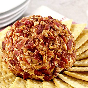 Bacon Cheese Ball and Other Easy Tailgate Foods