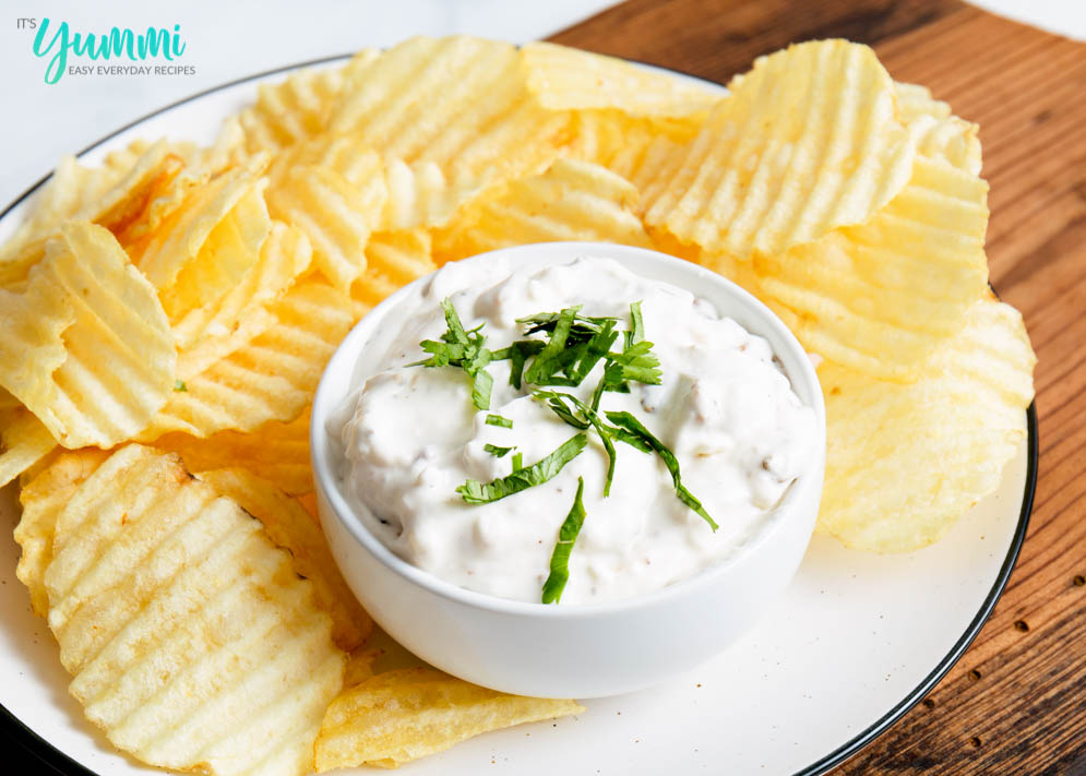 French Onion Dip | Homemade French Onion Dip