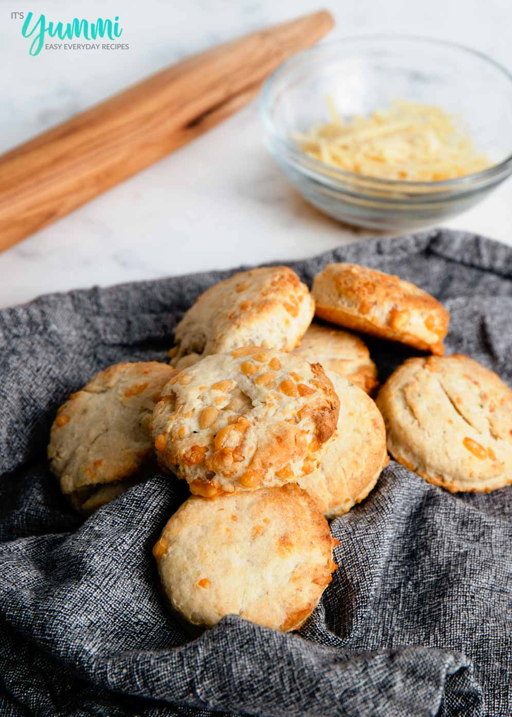 Homemade Cheddar Bisquick Biscuits