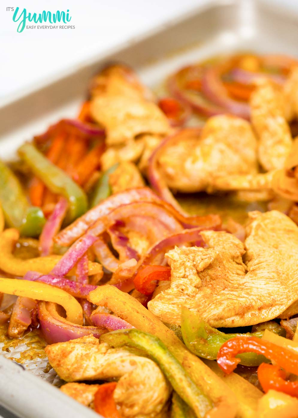 One Sheet Chicken Fajitas